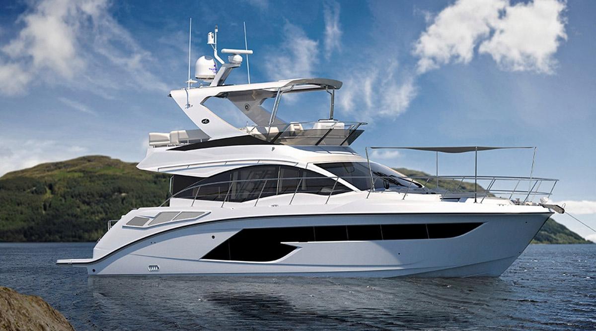 Sea Ray FLY 520 2018   Boats, -Inboard, --Flybridge Cruiser
