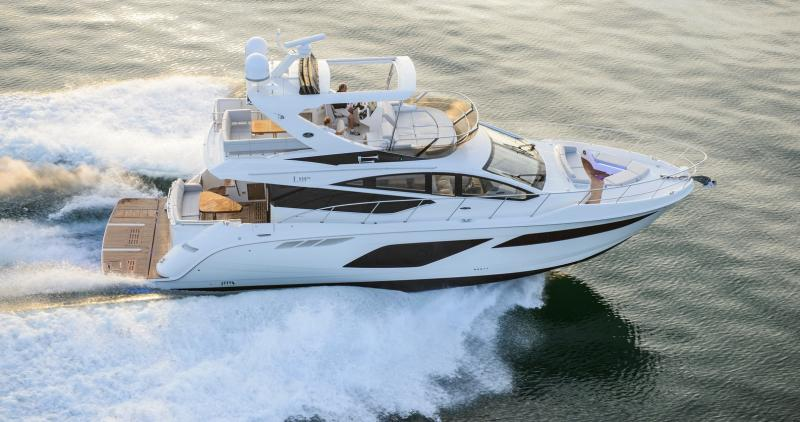 Sea Ray L550 FLY 2018