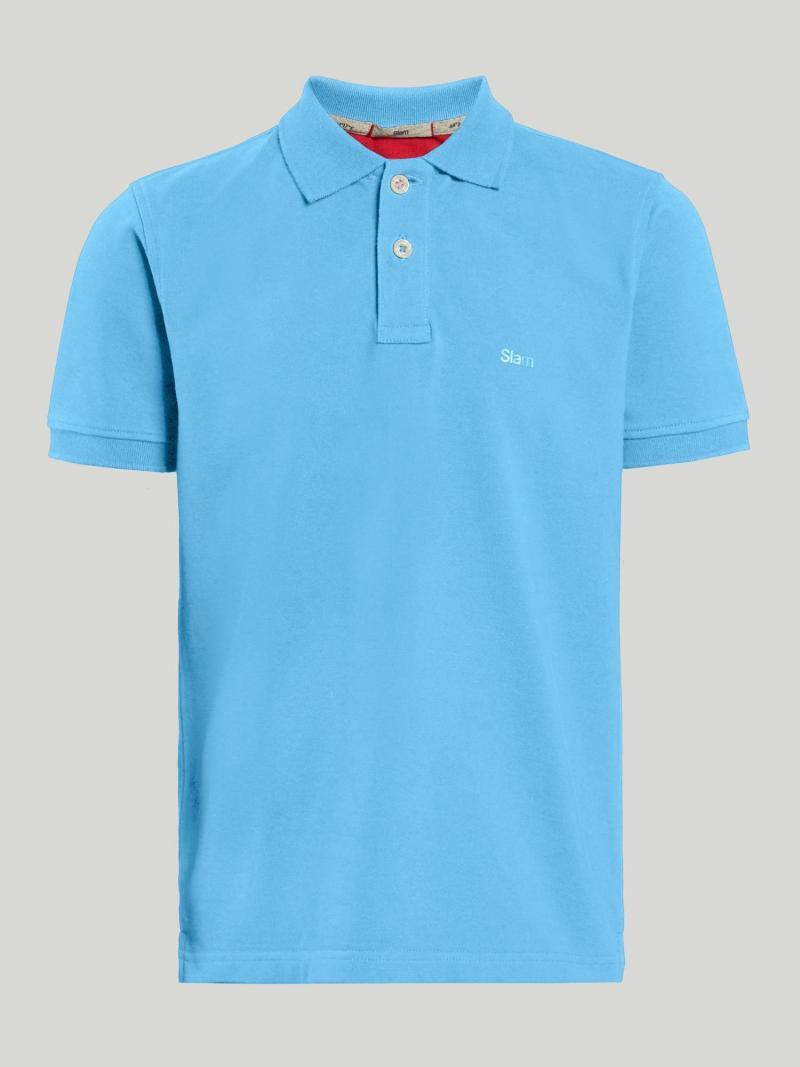 Boy's short sleeve polo shirt