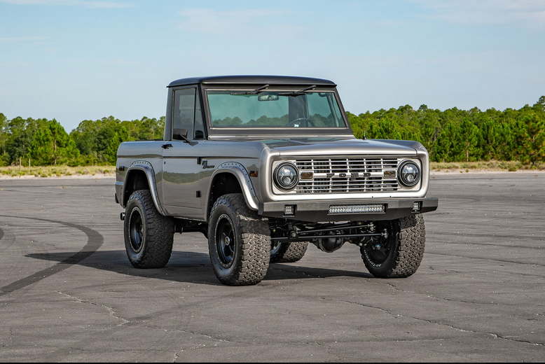 1967 Early Ford Bronco Half Cab