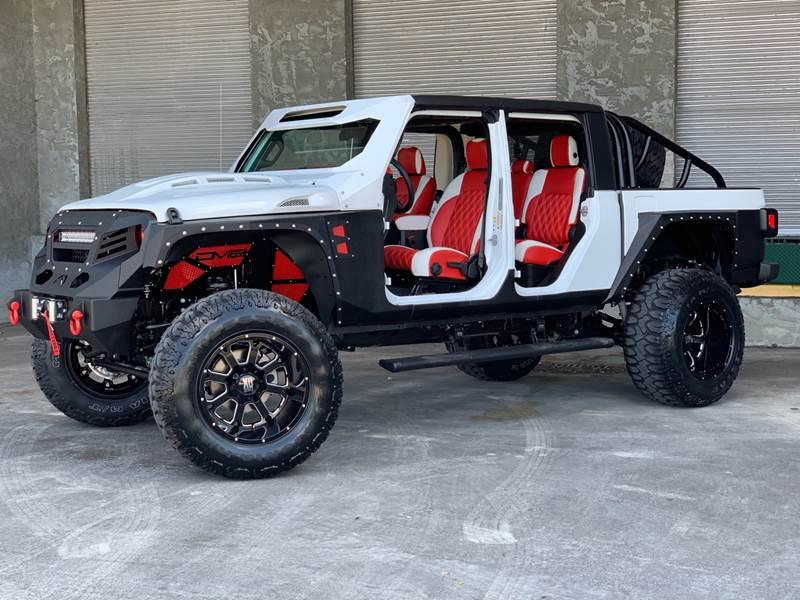 2020 Jeep Gladiator Storm trouper Metal jacket gladiator