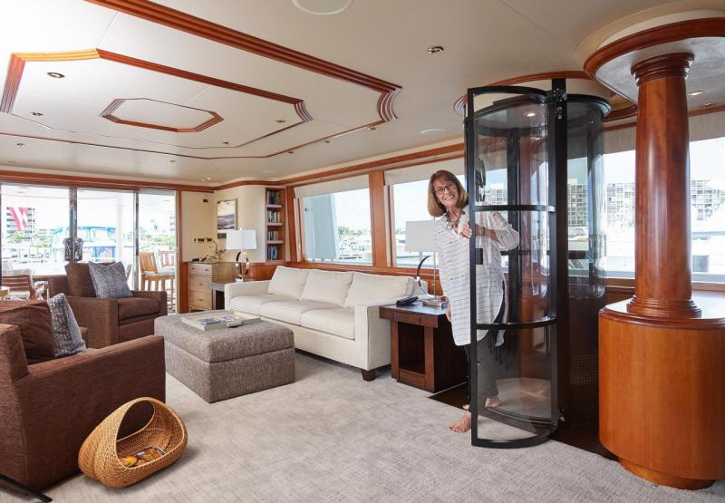 Elevator for Yachts & Boats