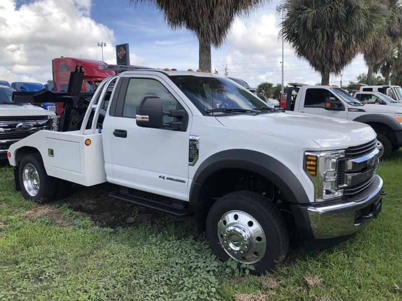 New 2019 FORD F450 XLT SD Medium Duty Trucks - Tow Trucks - Wrecker for Sale #OW0076