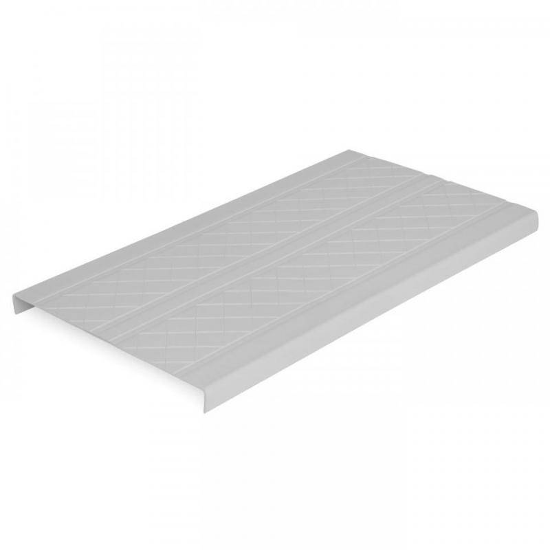 Deck-Top Premium Quality PVC Decking & Dock Cover, Driftwood Grey Plank Detail