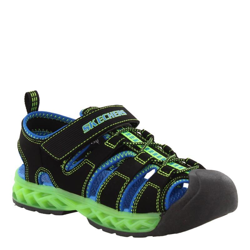 Boy's Skechers, S Lights: Flex - Flow Sandal - Little Kid