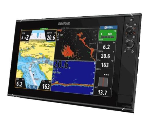 NSS16 Evo3, MFD-Sonar, Insight Charts