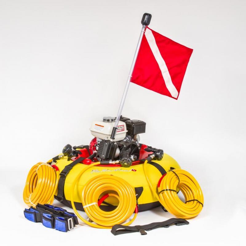 Model R360XL Hookah/Scuba Dive System - The Air Line