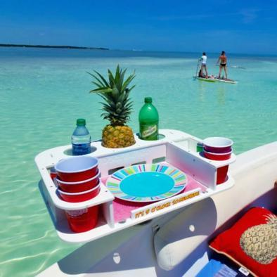 Docktail® Butler Ultimate Boat & Marine Table