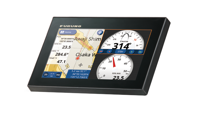 GPS/WAAS CHART PLOTTER with built-in CHIRP FISH FINDER GP-1871