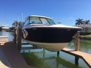 Aluminum Four-Post Boat Lifts, Beam Lift