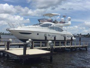 Aluminum Eight-Post Boat Lifts
