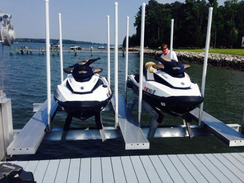 PWC Lifts   Personal Watercraft Lifts