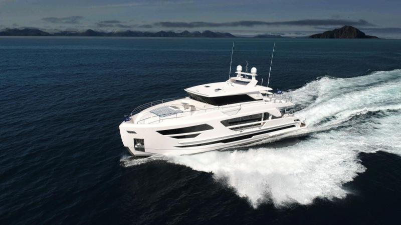 2020 Horizon FD87 Skyline Motoryacht