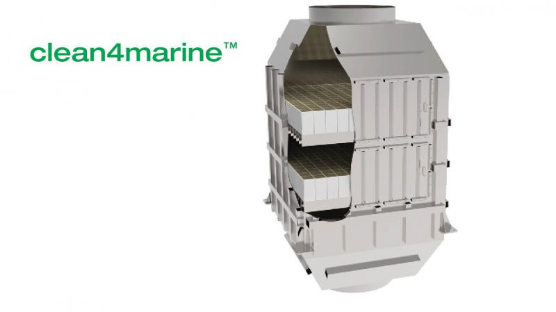 clean4marineTM -Reliable SCR Systems for Marine Vessels
