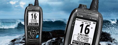 M93D VHF Marine Transceiver w/GPS & DSC Built In