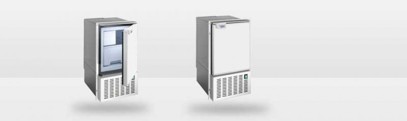 Isotherm Full Size Ice Maker - white door