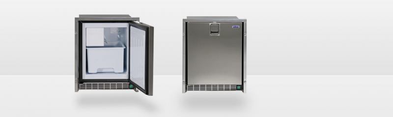 Isotherm Low Profile Ice Maker - stainless steel door