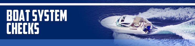 Boat System Checks
