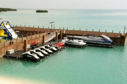 Combination Floating Boat Lift & PWC Lift
