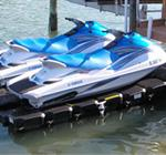 Double Floating Jet Ski Dock | Lifts For Jet Skis, Seedoo Lifts, And Waverunner Lifts From Jet Dock