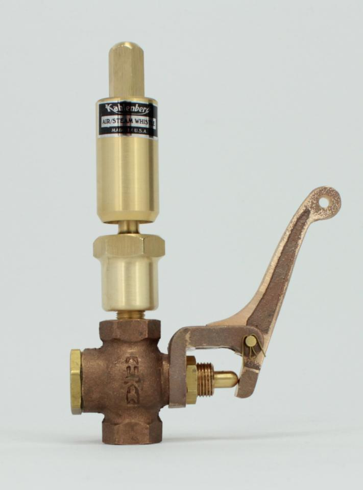 Air/Steam Whistle Model 115 with Valve