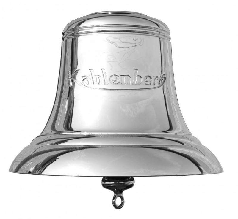 """Classic 12"""" Manual Ship's Bell"""