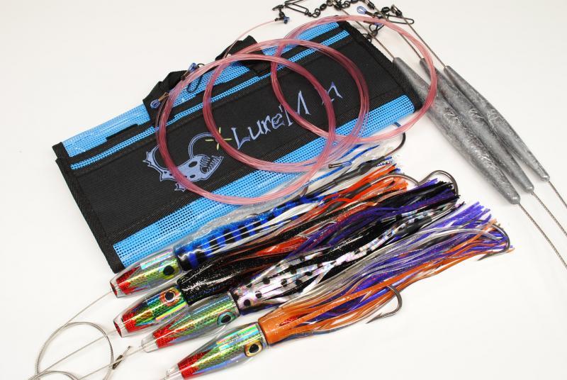 Complete Trolling Kit's : High Speed Wahoo 20 knot Medium/ Heavy kit