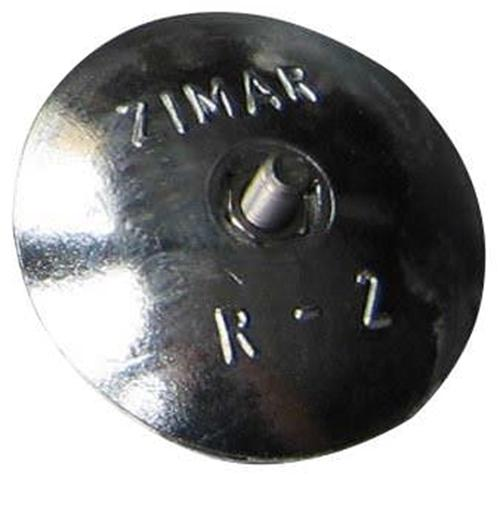 """R-2 2-15/16"""" Zimar Rudder Zinc Anode"""