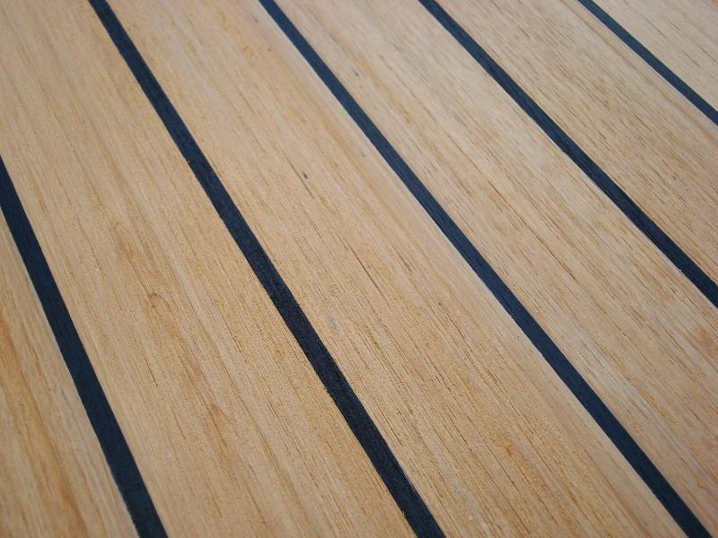 Synthetic Marine Teak Decking