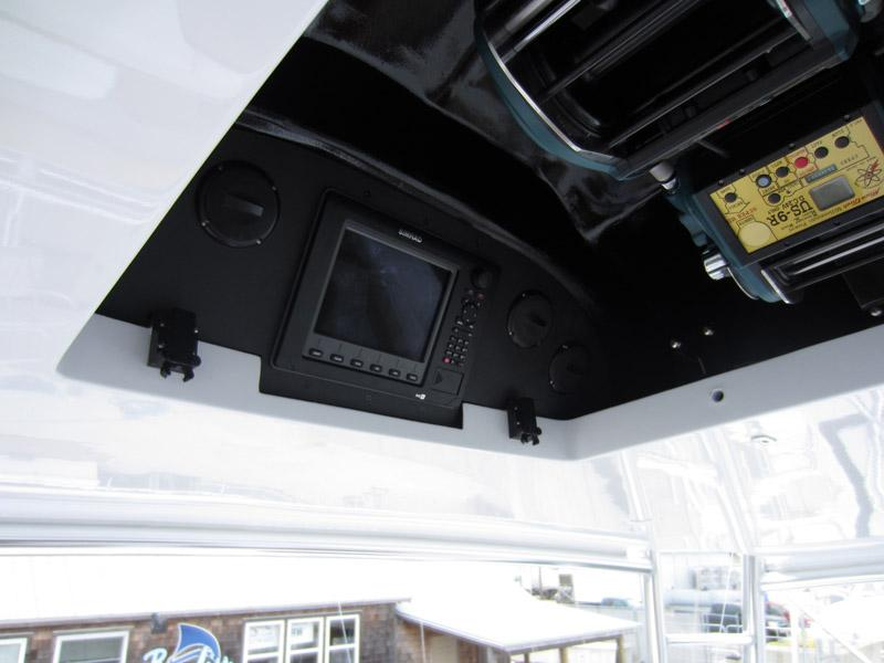 Teaser Reel Opening with Simrad Display Monitor Aft