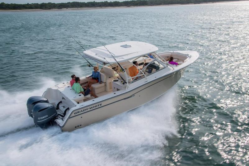 grady white 307 freedom 2020 boats outboard dual. Black Bedroom Furniture Sets. Home Design Ideas