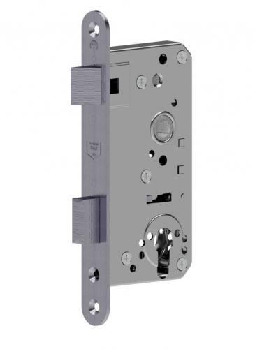 Anti Panic mortise lock left hand Backset 55mm Stainless Steel / GSV-Nr. 3801 APZ