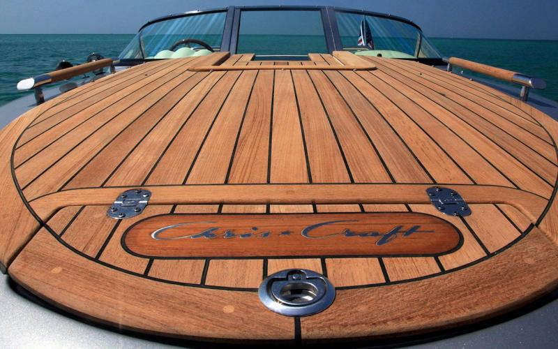 Production Boats – Teakdecking Systems