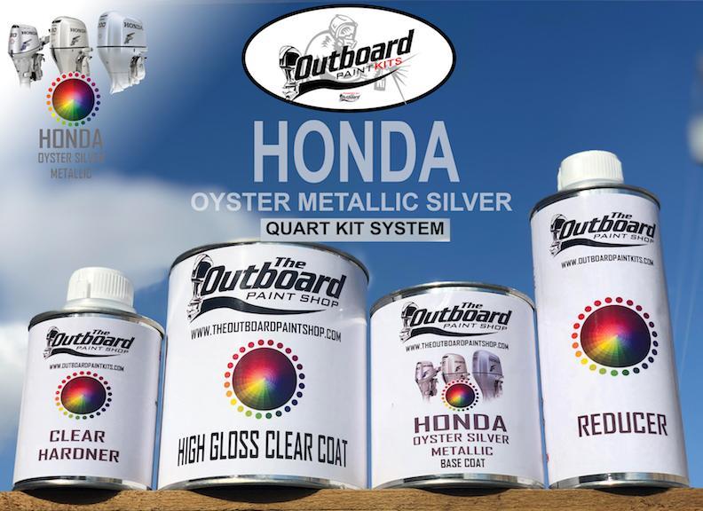HONDA OYSTER SILVER METALLIC ALL MODELS 1 Quart Refinishing Kit