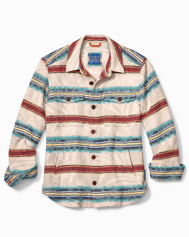 Tommy Bahama & Pendleton® Island Serape Stripe Shirt Jacket