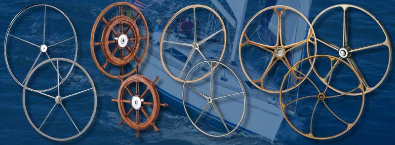 Sailboat Steering Wheels