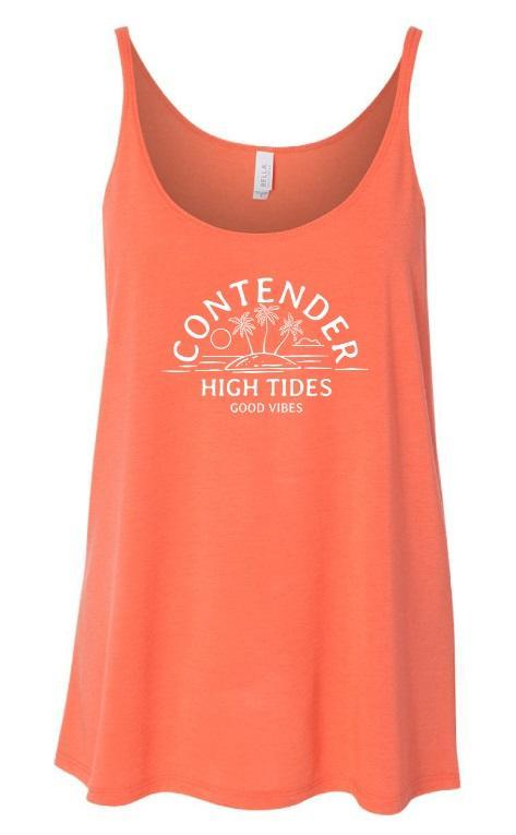 Contender High Tides & Good Vibes Womens Tank Top