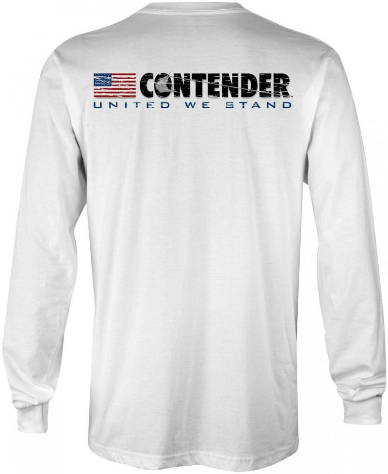 Contender United We Stand White Long Sleeve T Shirt