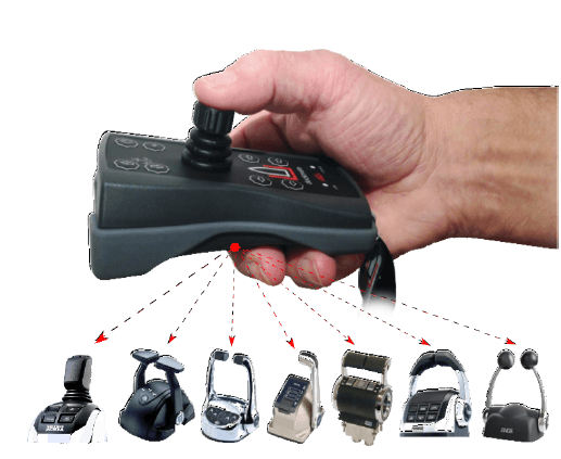 Wireless Joystick Control for Engines - Dockmate Inc