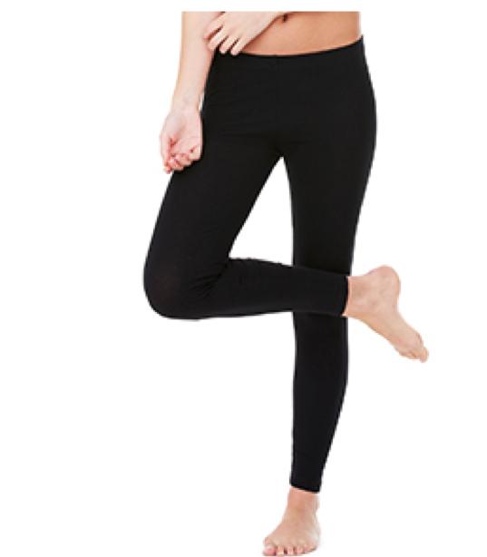 812 Bella + Canvas Ladies' Cotton/Spandex Legging