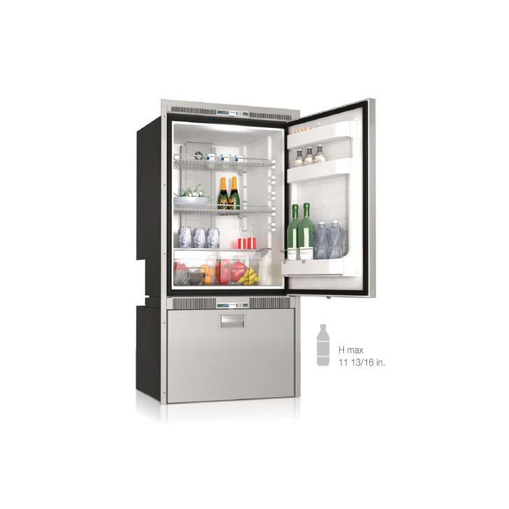 DW250IXP4-EFV upper refrigerator compartment lower refrigerator compartment - Yachts and Motorhomes - Vitrifrigo