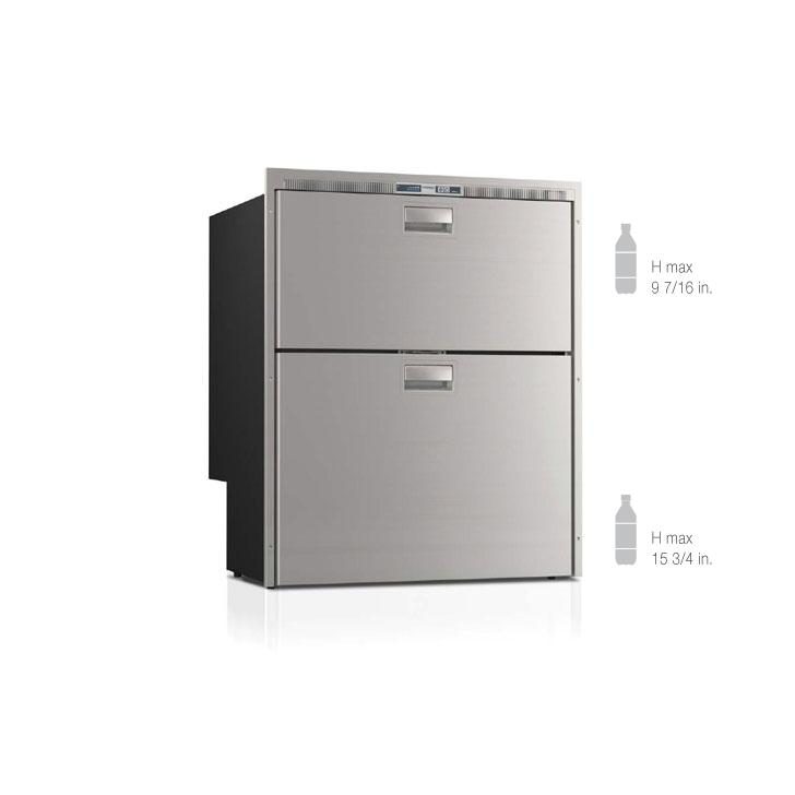 DW210IXP4-EF double refrigerator/refrigerator compartment - Yachts and Motorhomes - Vitrifrigo