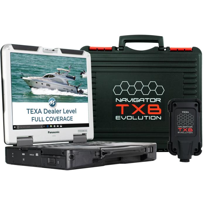 TEXA Dealer Level Marine Diagnostic Scanner Tool Full Coverage