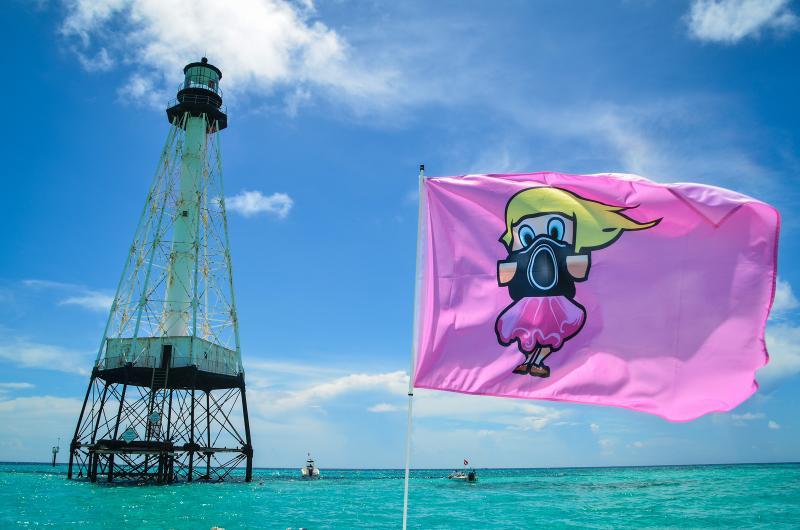 6' Boat Flag Pole