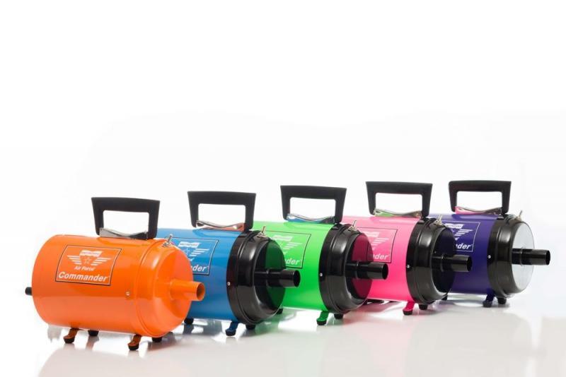 Air Force® Commander® Color Pet Dryer - Dog Grooming Dryer