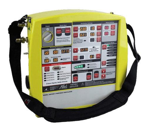 Allied Healthcare AHP300 Transport Ventilator (Yellow)