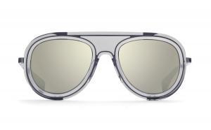 Dita Endurance 88 Men's Aviator Sunglasses - Grey/Grey Mirror