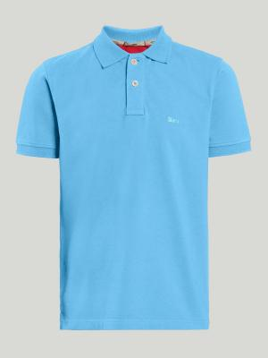 Boy's short sleeve polo shirt