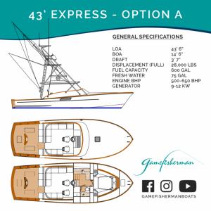 43' Express Option A