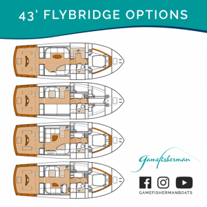 43' Flybridge Options